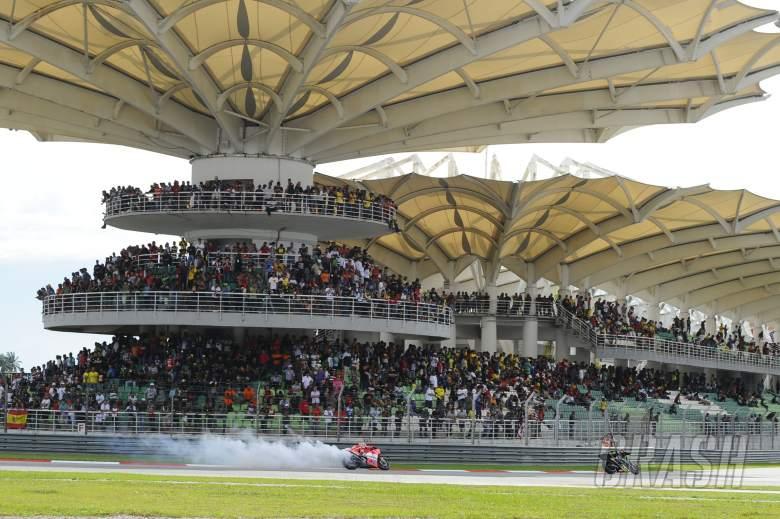,  - Hayden, engine blown, Malaysian MotoGP Race 2013
