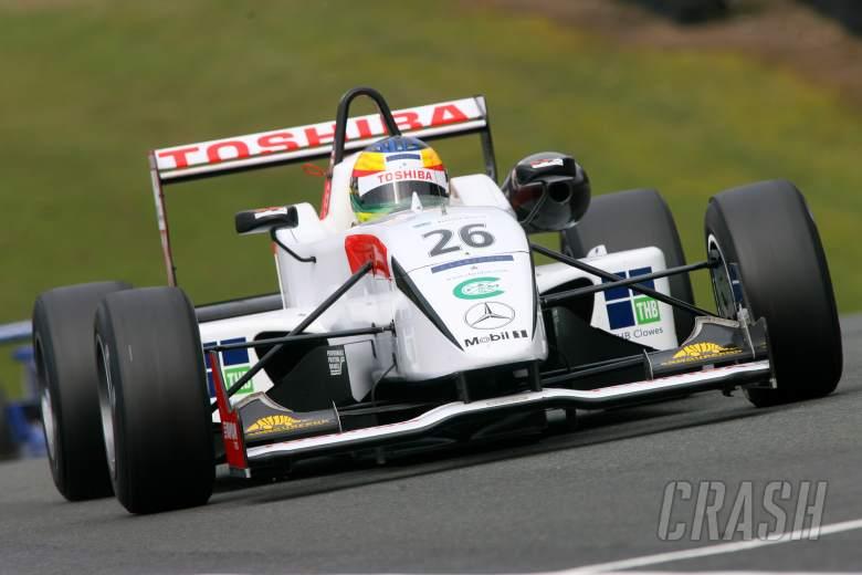 Mike Conway (GB), Double R Dallara Mercedes