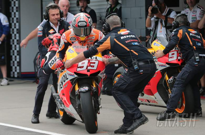 ,  - Marquez bike swap, Australian MotoGP 2013