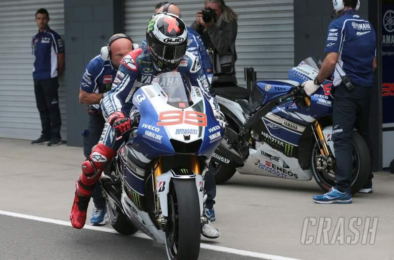 Lorenzo bike swap, Australian MotoGP 2013
