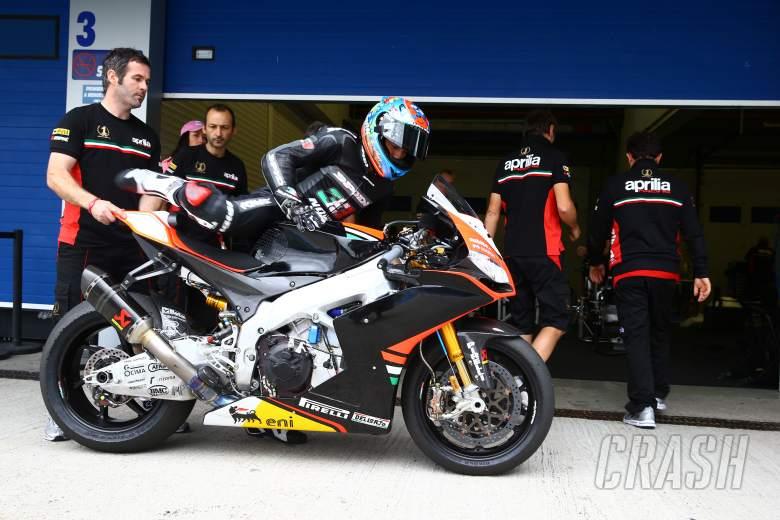 ,  - Melandri, end of season test, Jerez 2013