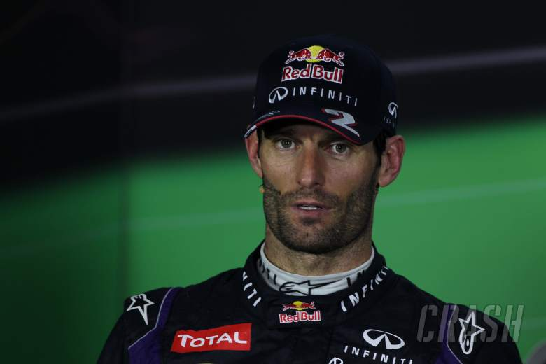 ,  - 03.11.2013- After Race Press Conference, , Mark Webber (AUS) Red Bull Racing RB9