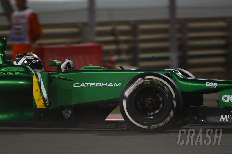 ,  - 03.11.2013- Race, Giedo Van der Garde (NED), Caterham F1 Team CT03