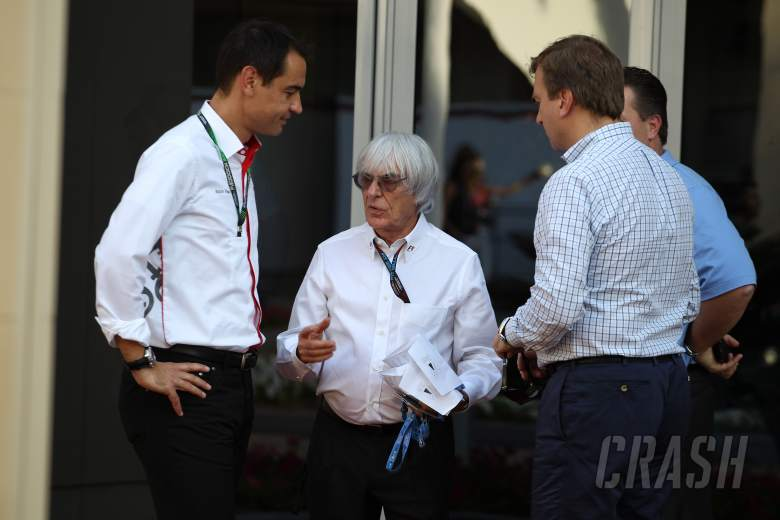 03.11.2013- Bernie Ecclestone (GBR), President and CEO of Formula One Management