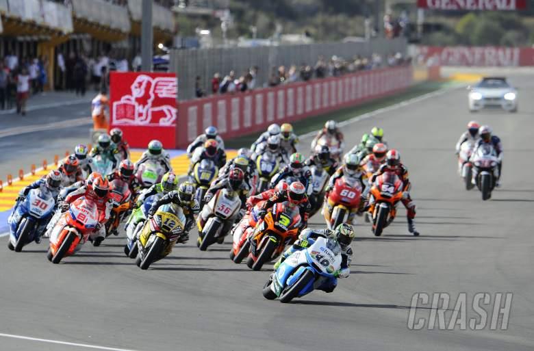 ,  - Pol Espargaro, Race start, Valencia Moto2 Race 2013