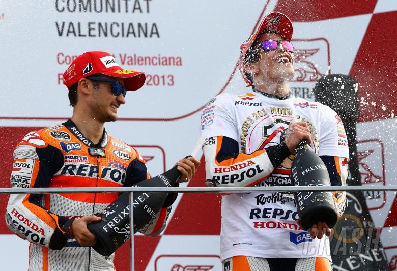 ,  - Pedrosa and Marquez, Valencia MotoGP 2013