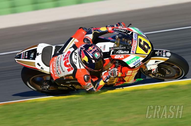 Bradl, Valencia MotoGP test, November 2013