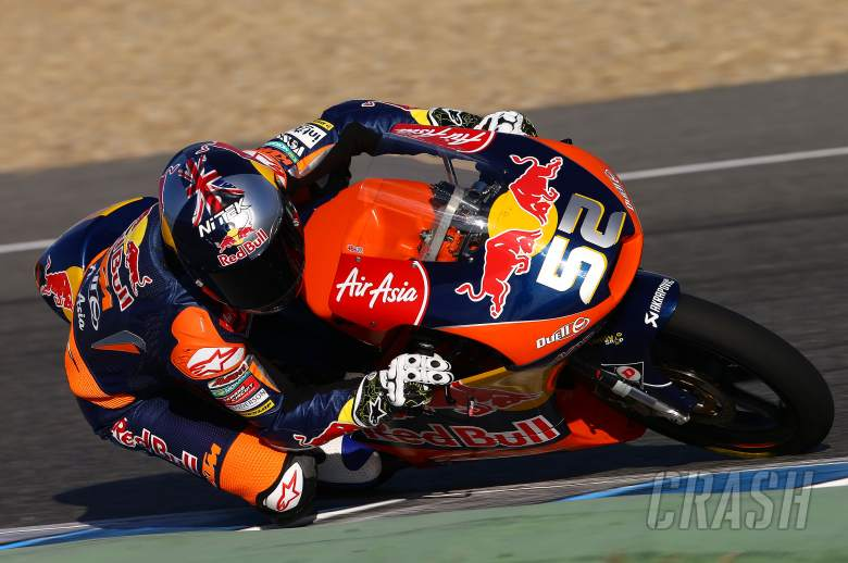 Kent, Moto2/3 tests, Jerez, November 2013