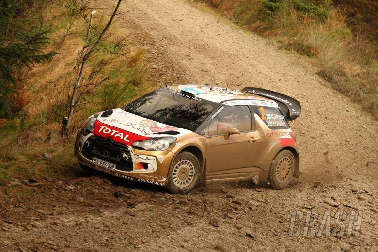 ,  - Mikko Hirvonen, Jarmo Lehtinen (Citroën DS3 WRC #2, Citroën Total Abu Dhabi World Rally Team)