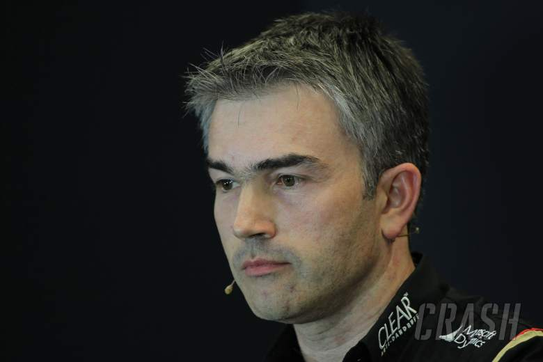 15.11.2013- Press conference, Nick Chester (GBR) Lotus F1 Team Technical Director