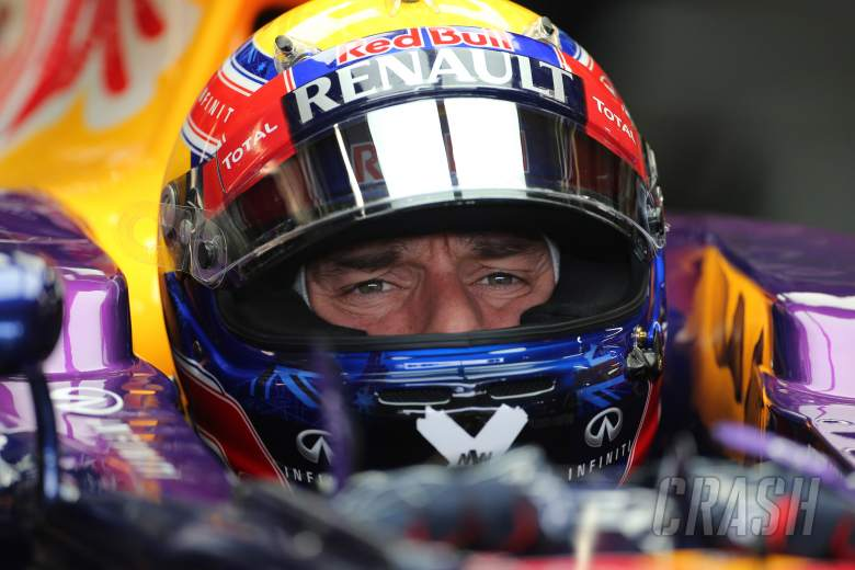22.11.2013- Free Practice 1, Mark Webber (AUS) Red Bull Racing RB9