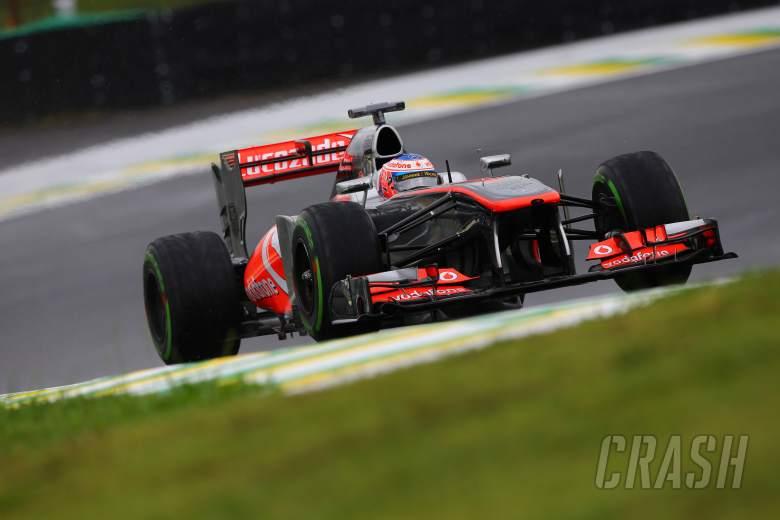 22.11.2013- Free Practice 1, Jenson Button (GBR) McLaren Mercedes MP4-28