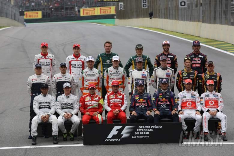 24.11.2013 - Drivers family photo