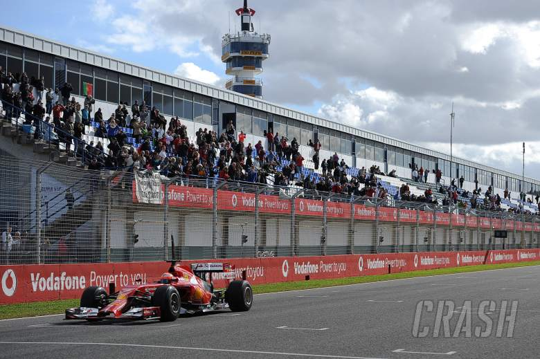 Kimi Raikkonen (FIN) Ferrari F14-T.28.01.2014. Formula One Testing, Day One, Jerez, Spain.