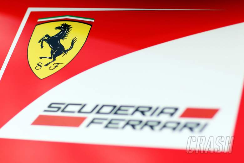 ,  - Ferrari logo.29.01.2014. Formula One Testing, Day Two, Jerez, Spain.