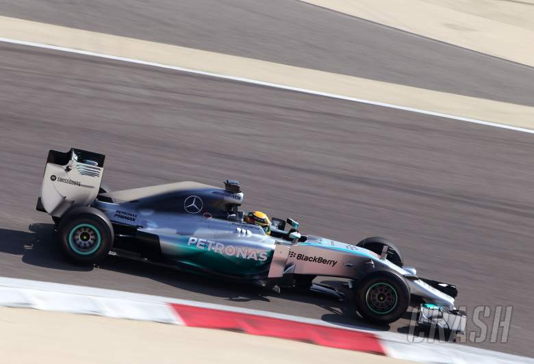 ,  - Lewis Hamilton (GBR), Mercedes AMG F1 Team 19.02.2014. Formula One Testing, Bahrain Test One, Day O