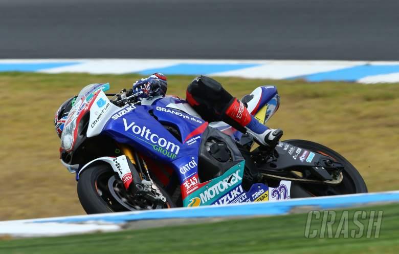 ,  - Lowes, Australian WSBK test and race, 2014