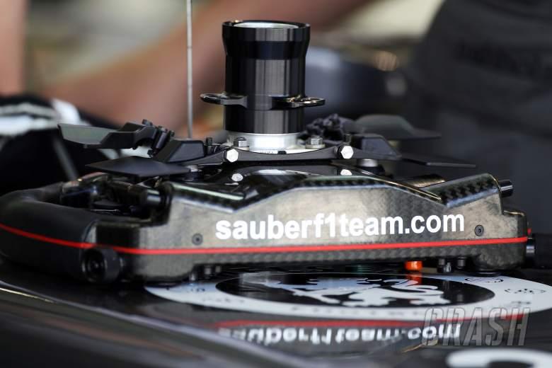 ,  - Sauber C33 steering wheel.21.02.2014. Formula One Testing, Bahrain Test One, Day Three, Sakhir, Bah