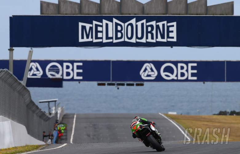 ,  - Sykes, Australian WSBK test and race, 2014