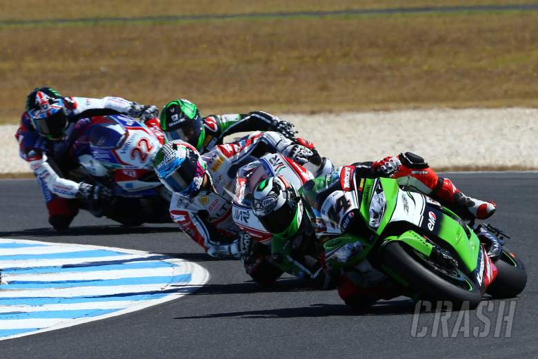 ,  - Salom, Race 2, Australian WSBK 2014