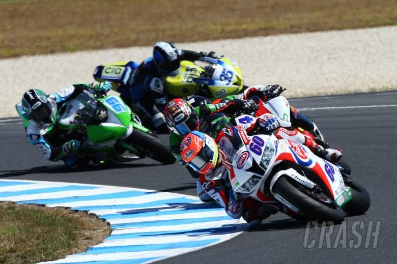 VD MArk, WSS race, Australian WSBK 2014