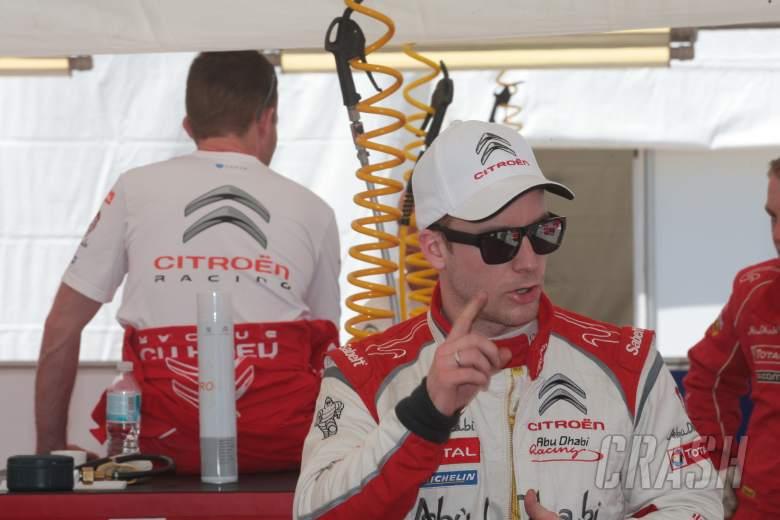 : Mads Ostberg (NOR) Jonas Andersson (NOR), Citroen DS3 WRC, Citroën Total Abu Dhabi WRT