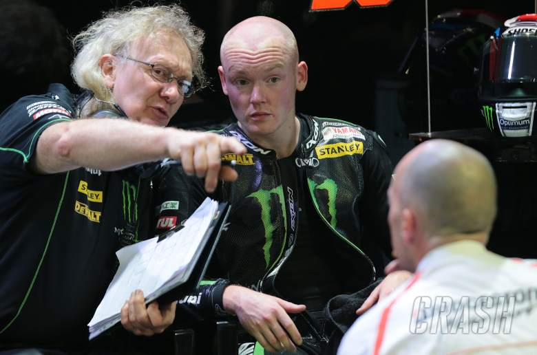 Coulon and Smith, Qatar MotoGP test, March 2014