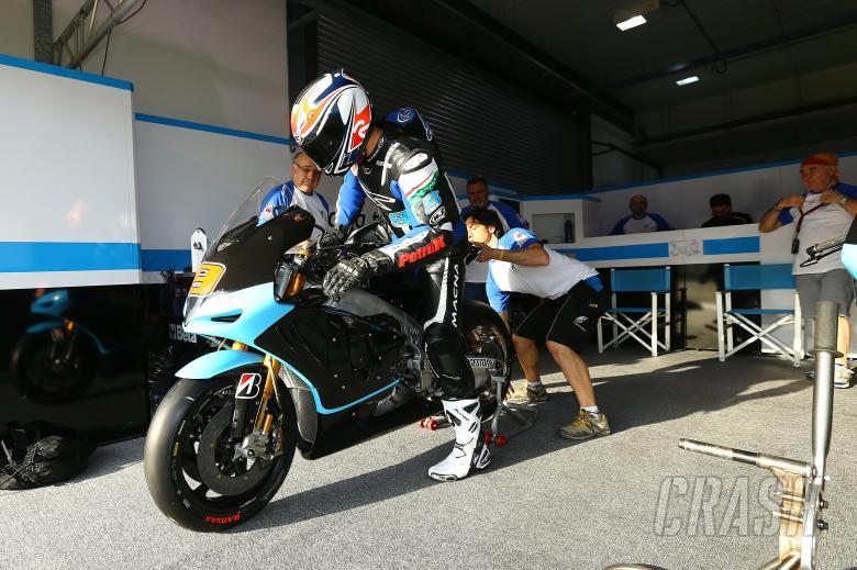 Petrucci, Qatar MotoGP test, March 2014