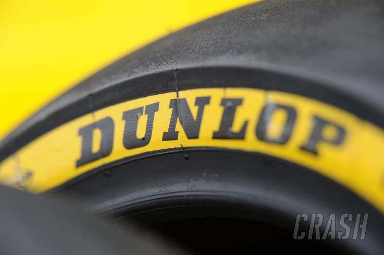 Dunlop Tyre colour codes, Jerez Moto2 Test Feb 2014