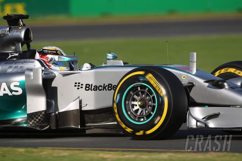 14.03.2014- Free Practice 2, Lewis Hamilton (GBR) Mercedes AMG F1 W05