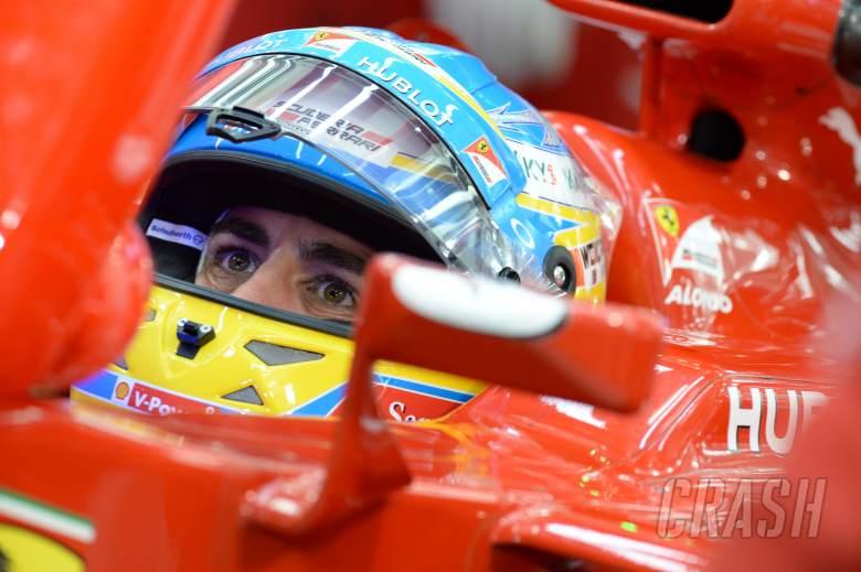04.04.2014- Free Practice 2, Fernando Alonso (ESP) Scuderia Ferrari F14T