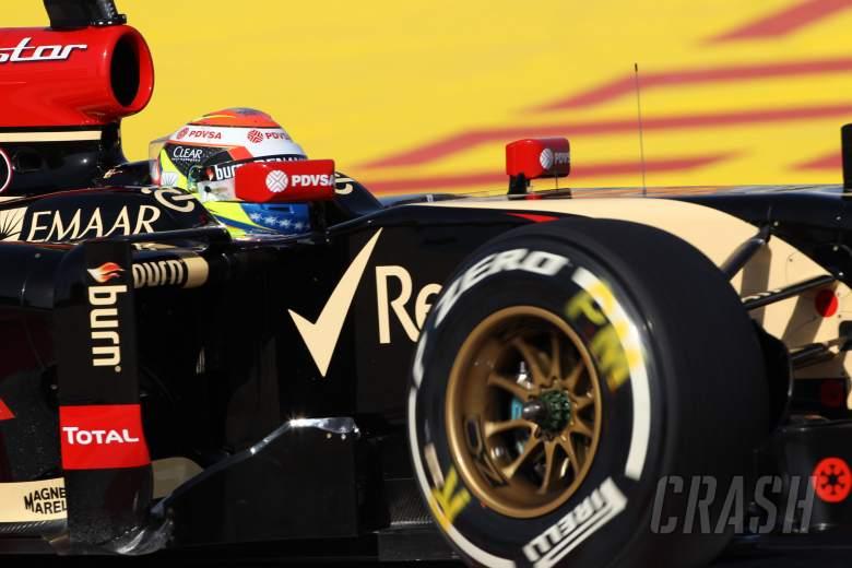 05.04.2014- Free practice 3, Pastor Maldonado (VEN) Lotus F1 Team, E22