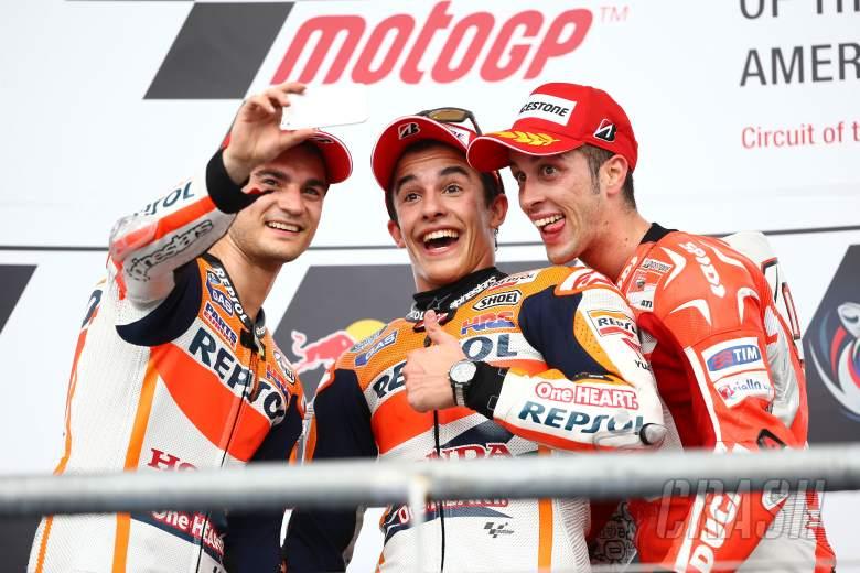 Pedrosa, Marquez, Dovizioso, MotoGP race, Grand Prix of the Americas 2014
