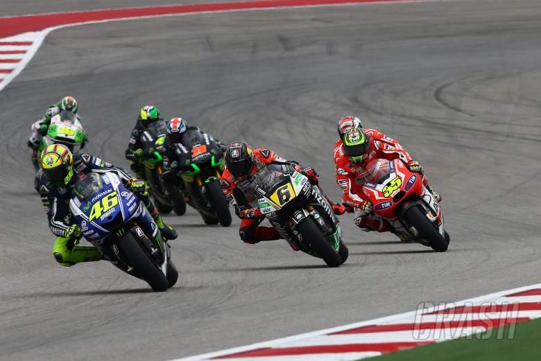 Rossi, MotoGP race, Grand Prix of the Americas 2014