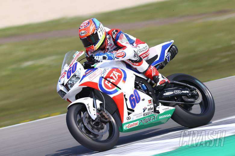 van der Mark WSS, Dutch WSBK 2014