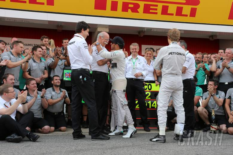 Wolff: Rosberg can deal with pressure