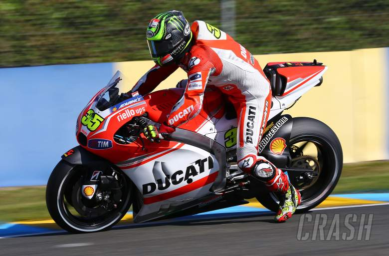 Crutchlow: We don't breathe when we brake
