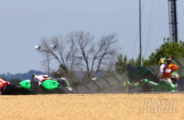 Hayden, Iannone, Crutchlow talk first lap clash