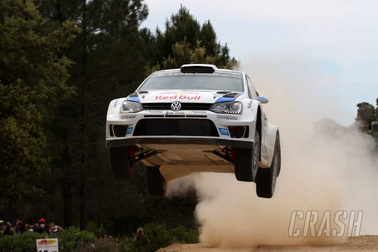 Ogier pulls out a cushion in Poland
