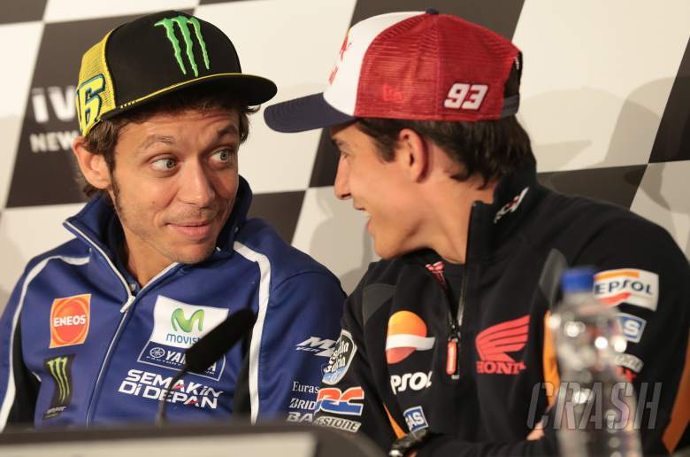 Rossi: Maybe the priest prefers Superbike!