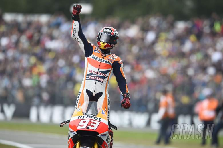 Marquez credits 'calm' team for Assen win
