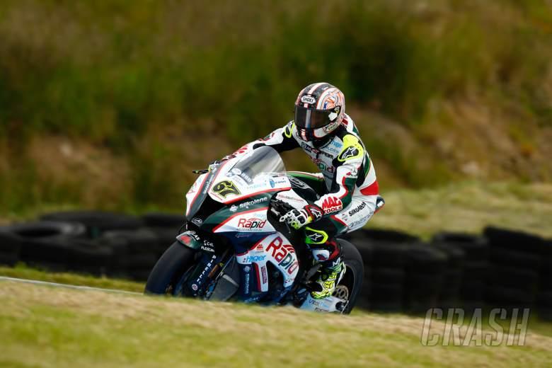 Shane Byrne suffers heavy crash in Almeria
