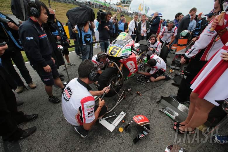 Stefan Bradl: Right tyres, 'wrong' bike