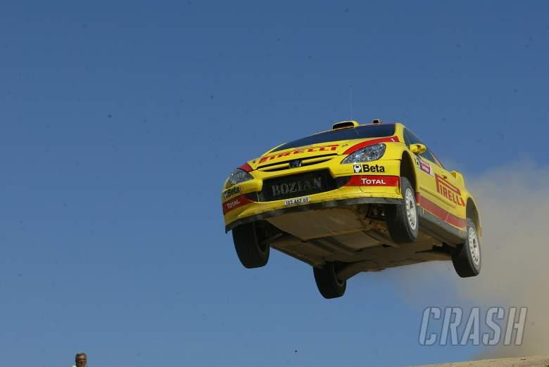 Gigi Galli / Giovanni Bernacchini - Pirelli-Bozian Peugeot 307 WRC