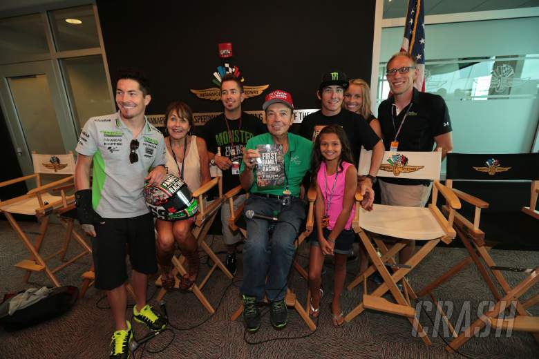Earl Hayden launches 'First Family of Racing' book