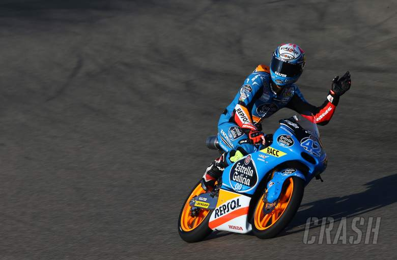 Moto3: Rins overcomes clutch issues for pole