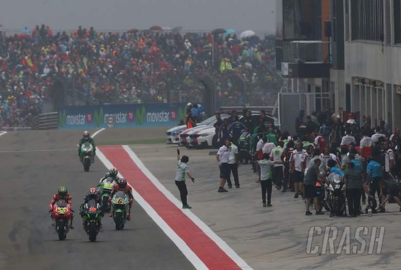 MotoGP to remove artificial grass, reconsider flag-to-flag
