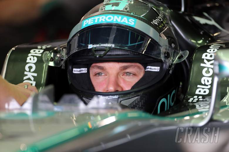 Rosberg pips Hamilton in tight FP1