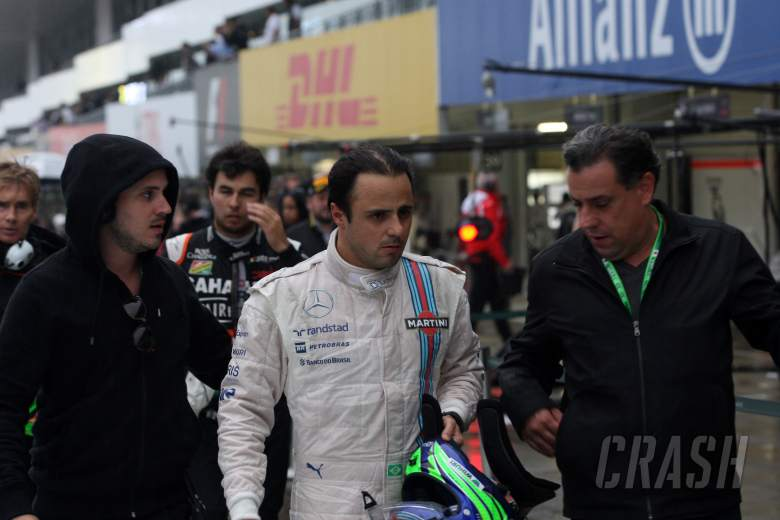 Massa 'was already screaming' for race to stop