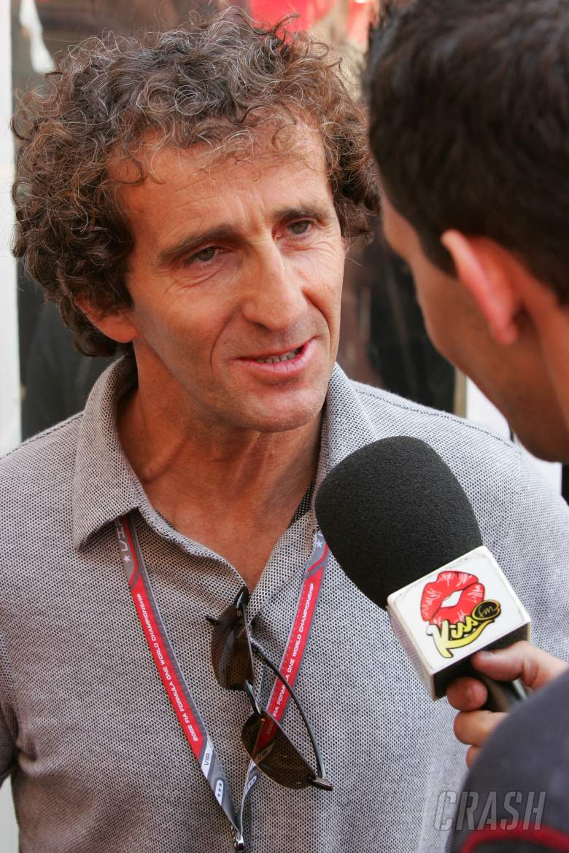 27.05.2006 Monte Carlo, Monaco, . Alain Prost (FRA), is interviewed - Formula 1 World Championship,